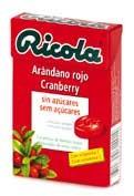 Ricola caramelos arandano rojo 50g