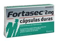 FORTASEC 2 mg capsulas duras , 10 cápsulas