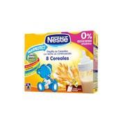 Nestle papilla 8 cereales lista para tomar (brik 250 ml 2 u)