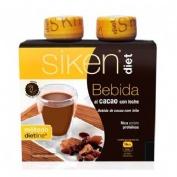 Siken diet bebida de cacao con leche (235 ml 2 u)