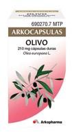 ARKOCAPSULAS OLIVO 210 mg CAPSULAS DURAS, 50 cápsulas