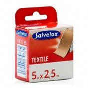 SALVELOX esparadrapo (textil carne 5 x 2,5)