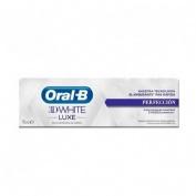 Oral b 3dwhite luxe proteccion del esmalte dent (75 ml)