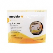 QUICK CLEAN bolsas para microondas reutilizables (5 u)