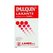 EMULIQUEN LAXANTE 7.173,9 mg/4,5 mg EMULSION ORAL EN SOBRES , 200 sobres
