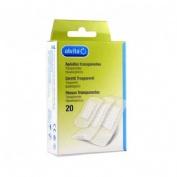 Alvita - aposito adhesivo transparente (20 u)