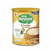 Nestle nestum papilla 8 cereales con galleta (600 g)