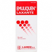 EMULIQUEN LAXANTE 478,26 mg/ml + 0,3 mg/ml EMULSION ORAL , 1 frasco de 230 ml