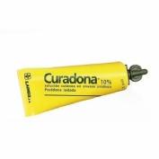 CURADONA 10% SOLUCION CUTANEA EN ENVASE UNIDOSIS, 200 envases unidosis de 10 ml